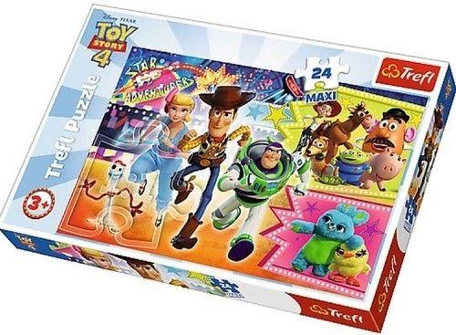 Duże Puzzle 24 El. Toy Story W Pogoni Za Przygodą MAXI TREFL