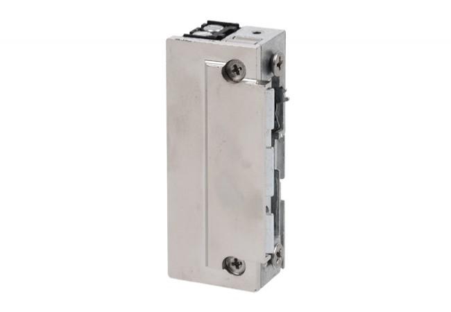 """Elektrozaczep Eff-Eff z wyłącznikiem 10-24V AC/DC """"twarda"""" sprężyna do zamków (KFV) (118E192-----A71)"""