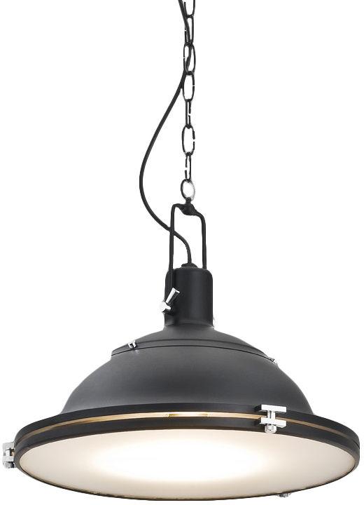 Lampa wisząca Nautilius L 10269106 oprawa czarna Kaspa