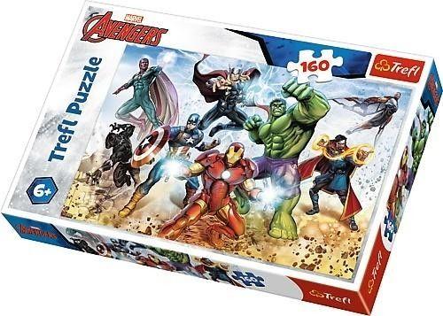 Puzzle Trefl 160 - Gotowi by ratować świat, Ready to save the world