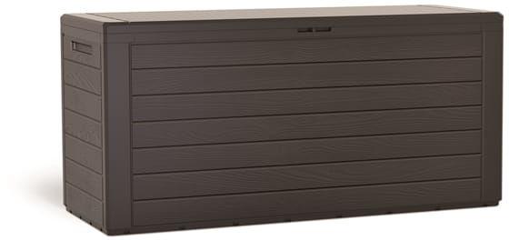 Skrzynia Ogrodowa WoodeBox 280l Brąz Prosperplast