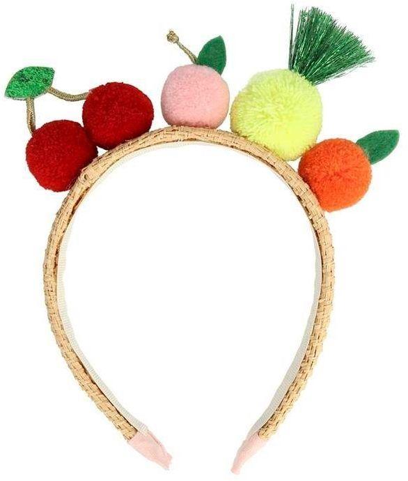 Opaska do włosów owoce-pompony