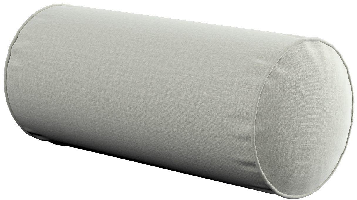Poduszka wałek prosty, pastelowo miętowy welwet, Ø16  40 cm, Ingrid