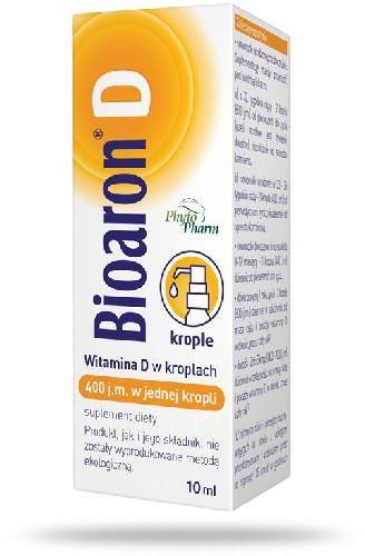 Bioaron D krople 400 j.m. 10 ml
