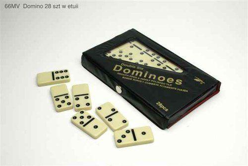 Domino 28 sztuk w etui ZAKŁADKA DO KSIĄŻEK GRATIS DO KAŻDEGO ZAMÓWIENIA
