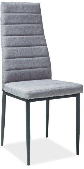 Krzesło H-265 szare w stylu loft do jadalni  KUP TERAZ - OTRZYMAJ RABAT