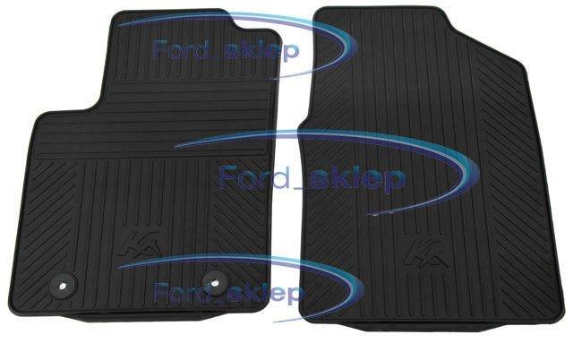 wykładziny / dywaniki podłogi gumowe Ford KA - przód oryginał