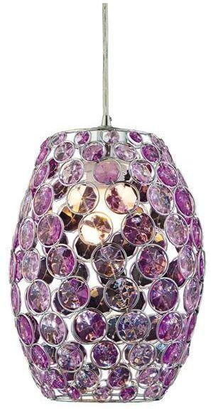 CORN LAMPA WISZĄCA 20 1X60W E27 FIOLET + LINKA 85-10523