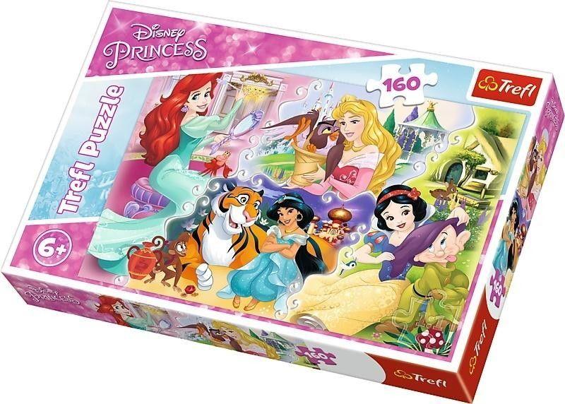 Puzzle Trefl 160 - Księżniczki i Przyjaciele, Princesses and Friends