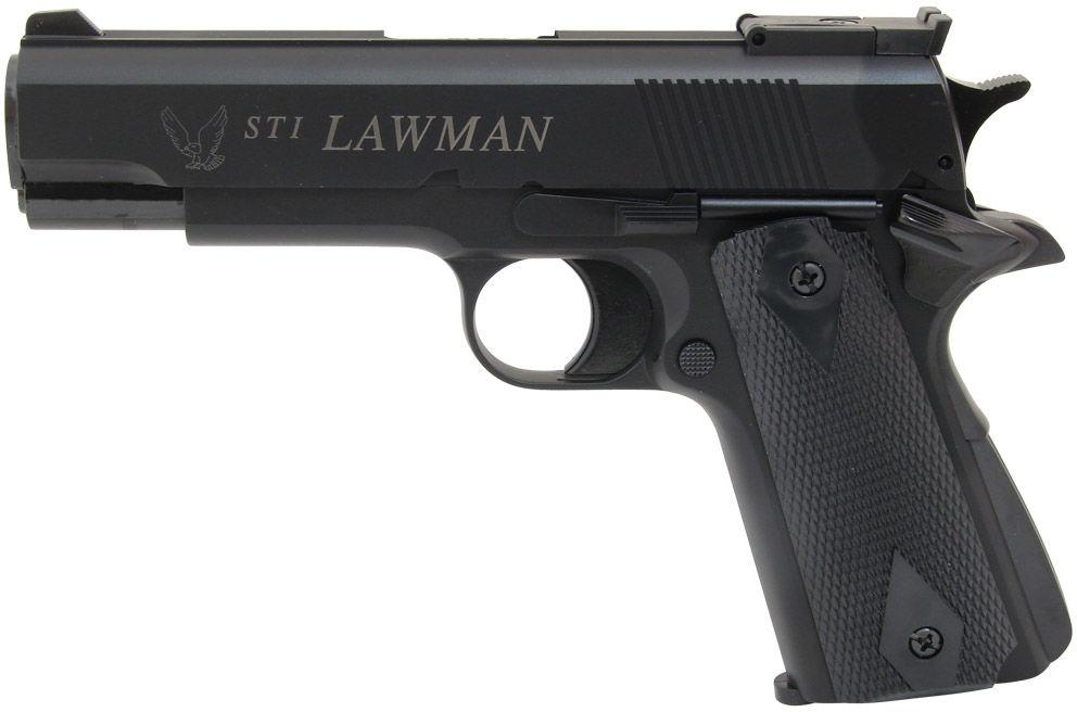 Pistolet ASG GG STI Lawman Black (14770)