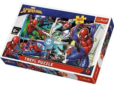 Puzzle Trefl 160 - Spider-Man na ratunek, Spider- Man to the rescue