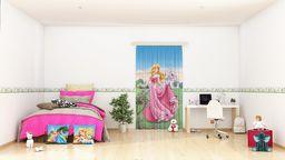 AG Design Disney Księżniczki naklejki ścienne, folia samoprzylepna, wielokolorowa, 500 x 14 cm