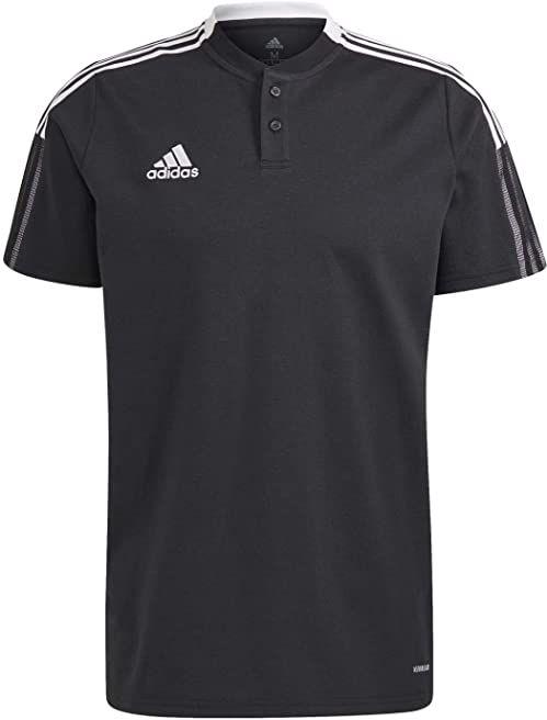 adidas Koszulka polo męska Czarny L