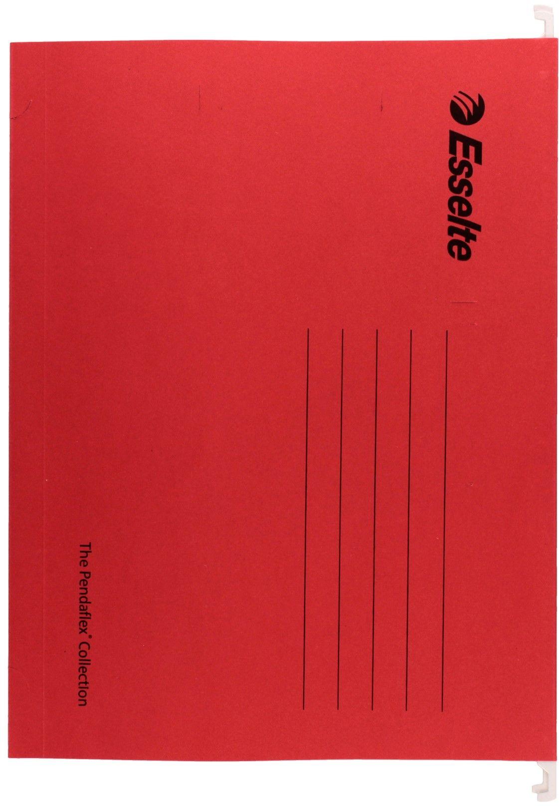 Teczka zawieszkowa A4 czerwona Pendaflex