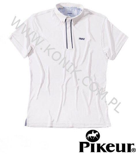 Koszula konkursowa elastyczna męska - PIKEUR - biała
