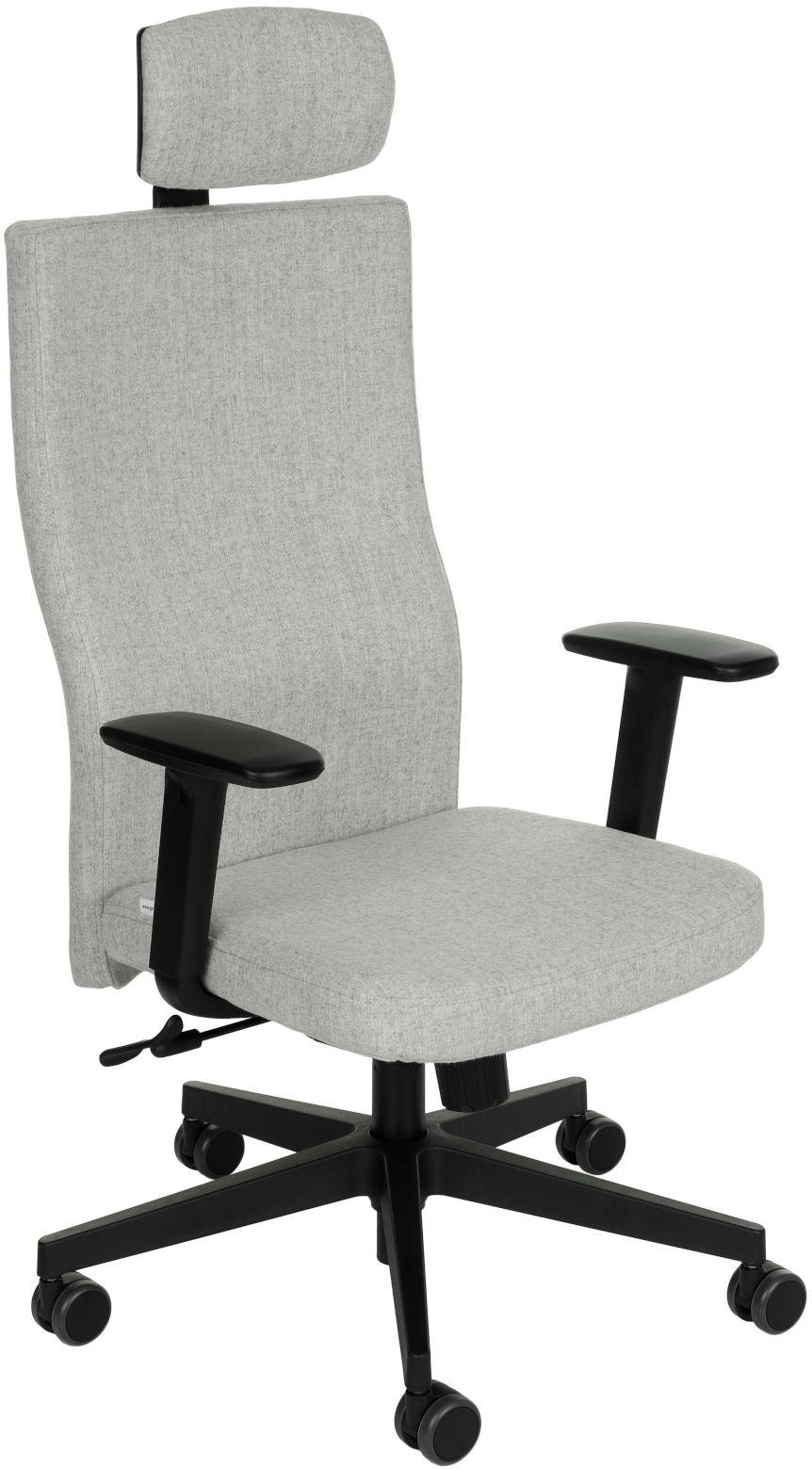 Krzesło biurowe Team Plus HD, ergonomiczny fotel biurowy