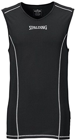 Spalding koszulka zespołowa i zestaw, tank top funkcyjny, czarny, XXXXL