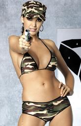 Soldier bikini