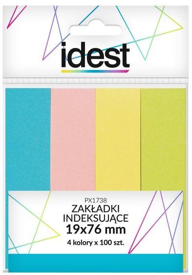Zakładki indeksujące papierowe Oficio 19 x 76 mm, 4 kolory, 4 x 100 sztuk -  Rabaty  Porady  Hurt  Wyceny   sklep@solokolos.pl   tel.(34)366-72-72