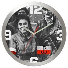 Zegar metalowy Powstańcy Warszawy