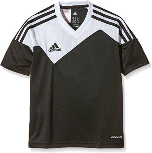 adidas Toque13 koszulka dziecięca z rękawem 1/4, czarny/biały, 116