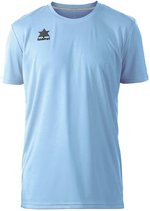 Luanvi Pol koszulka męska z krótkim rękawem L błękitna