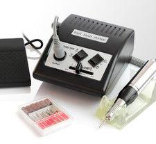 Frezarka do manicure JD500 Czarna + zestaw frezów