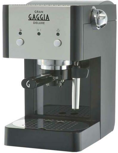 Gaggia Gran Gaggia Deluxe RI8425/11 - Kup na Raty - RRSO 0%