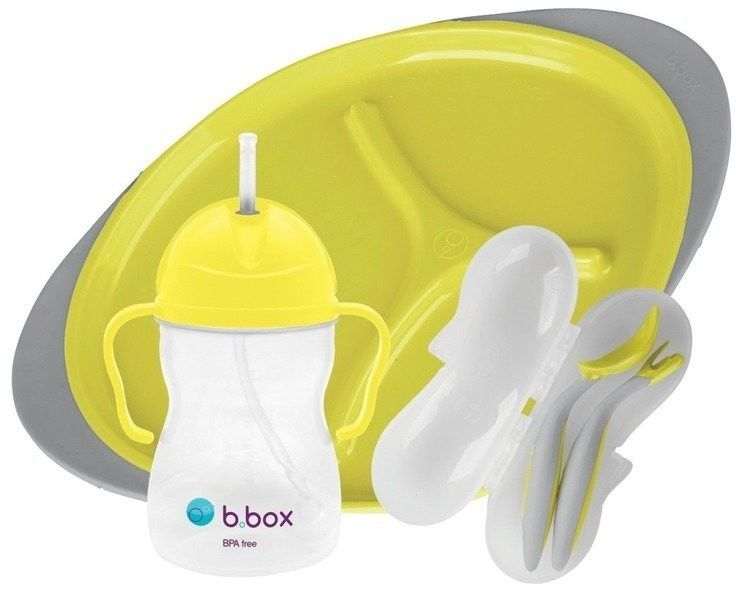 B.box - Zestaw do Karmienia Lemon Sherbet