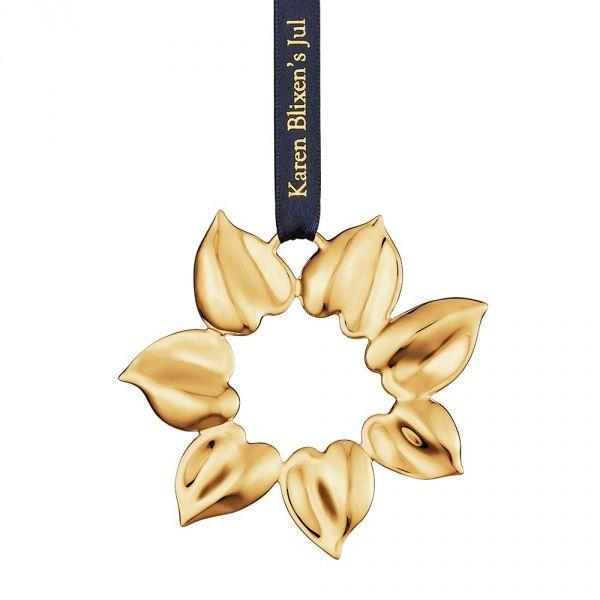 Rosendahl Karen Blixen''s Christmas - Zawieszka Świąteczna Gold Star - Złota