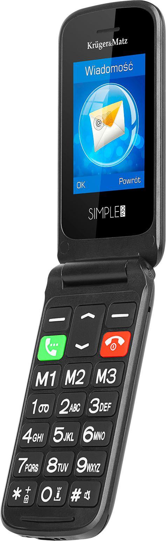 Telefon GSM dla seniora Kruger&Matz Simple 930