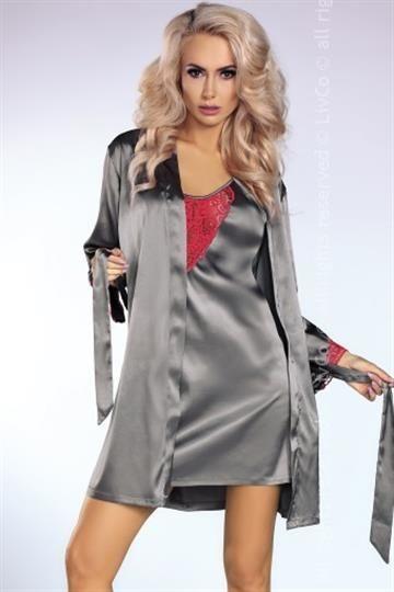 Koszulka Platinum Red + szlafrok + stringi GRATIS!