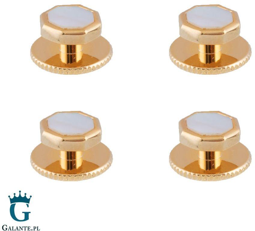 Guziki smokingowe z masą perłową ssd-5102 (4 guziki)