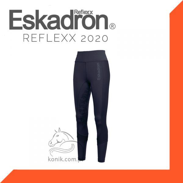 Legginsy jeździeckie Eskadron Reflexx wiosna/lato 2020 - navy