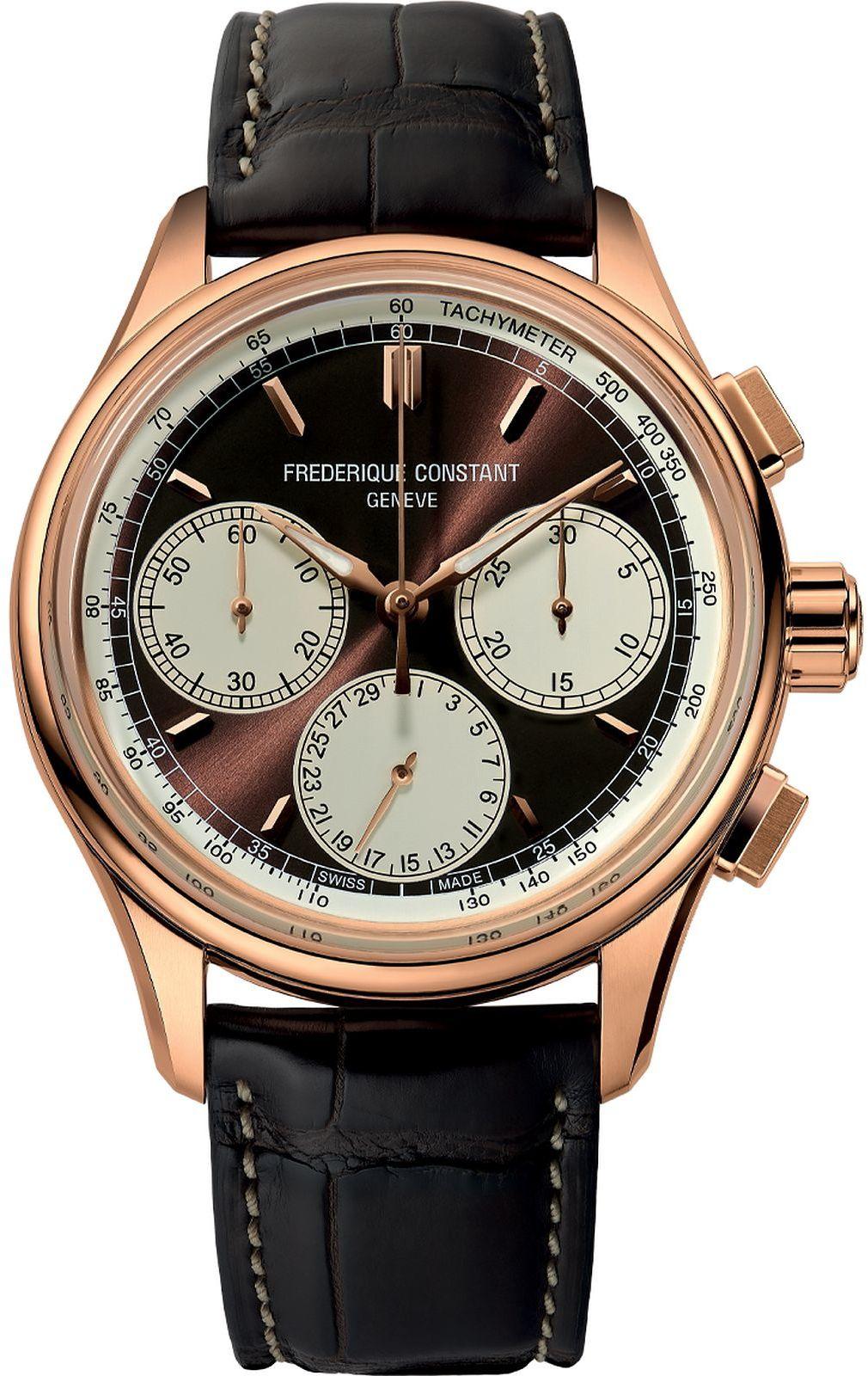 Zegarek męski Frederique Constant Flyback Chronograph Manufacture
