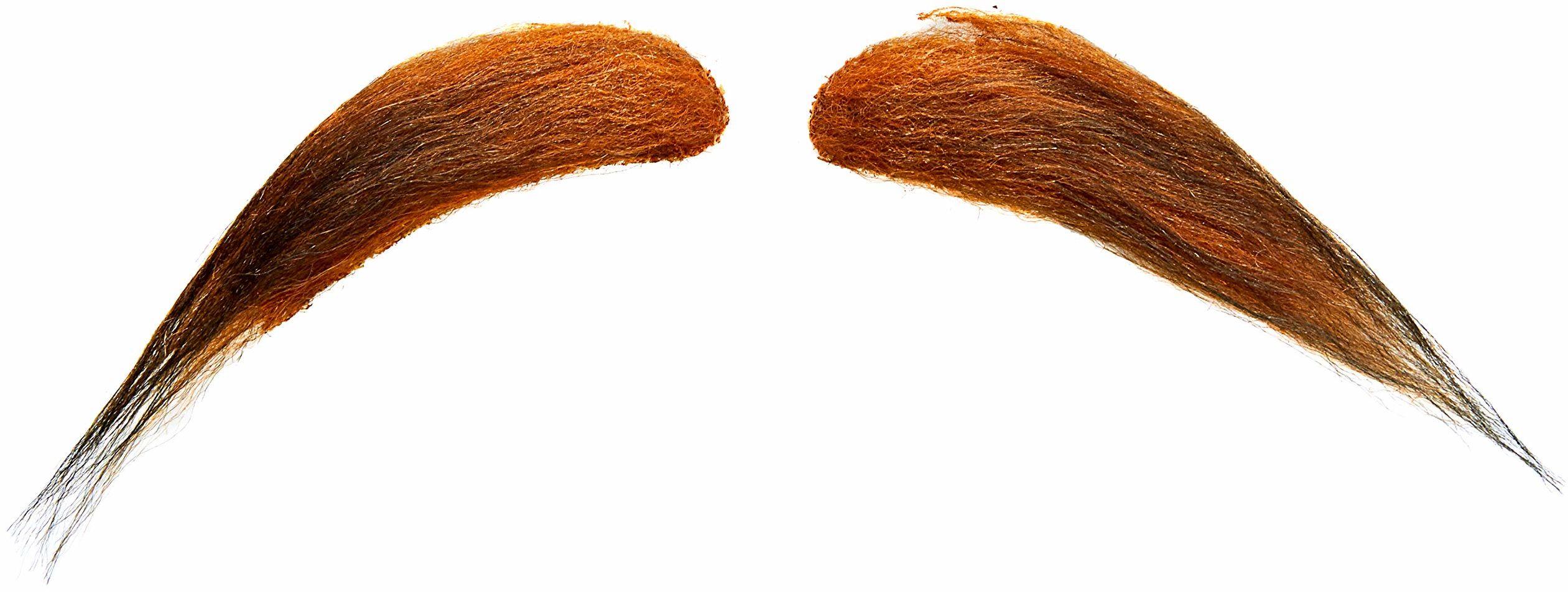 Żywe kostiumy 203921 wąsy, wielokolorowe, jeden rozmiar