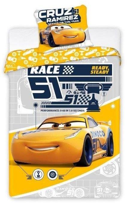 Pościel Dziecięca Disney Cars 056 Race 51