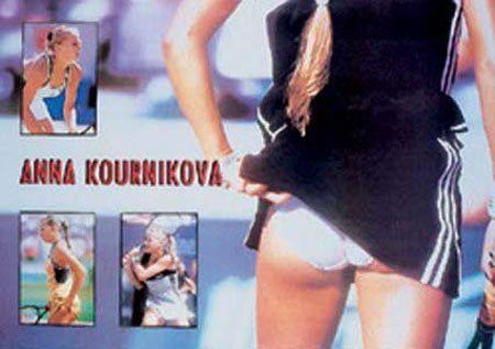 Empire 13033 Kournikova, Anna - Collage - Sexy erotyczny plakat sportowy - 91,5 x 61 cm