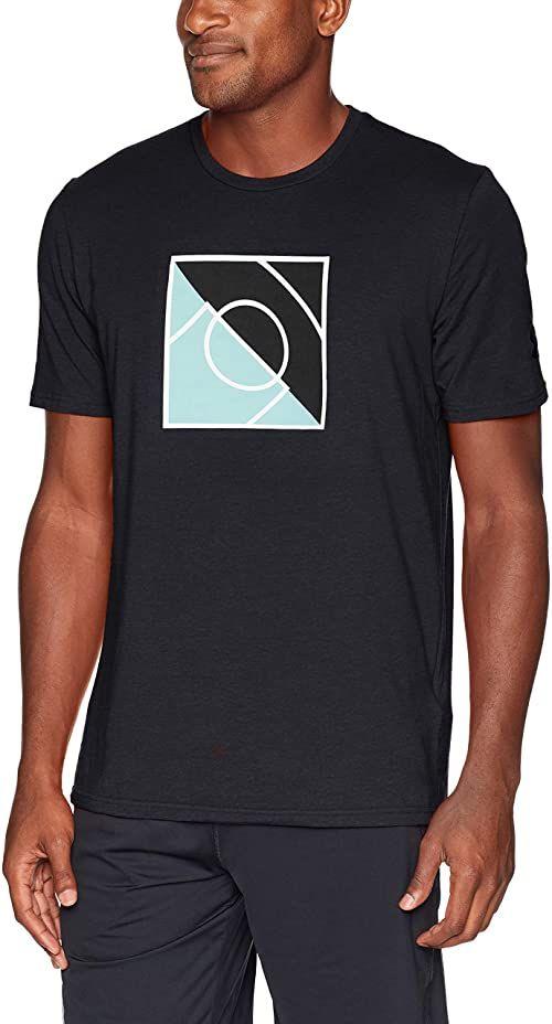 Under Armour koszulka męska Top of the Key koszulka z krótkim rękawem Black/Basel Blue M