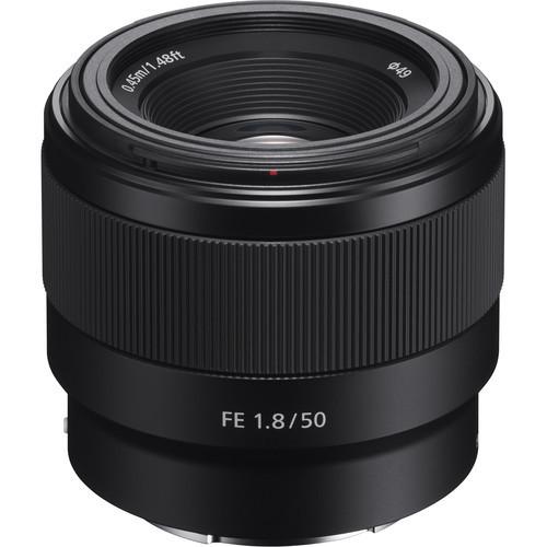 Sony FE 50mm F1.8 - obiektyw stałoogniskowy, SEL50F18F