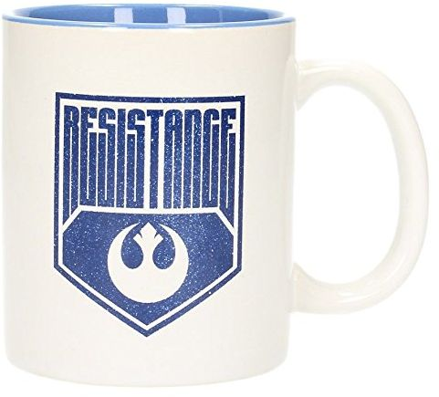 SD Toys sdtsdt89992  filiżanka z ceramiki, odporna na uszkodzenia, wzór Star Wars, niebieska