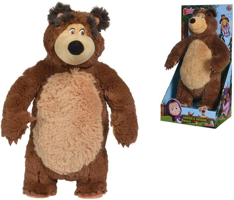 SIMBA Śmiejący się Misza Interaktywny Niedźwiedź 43 cm LK