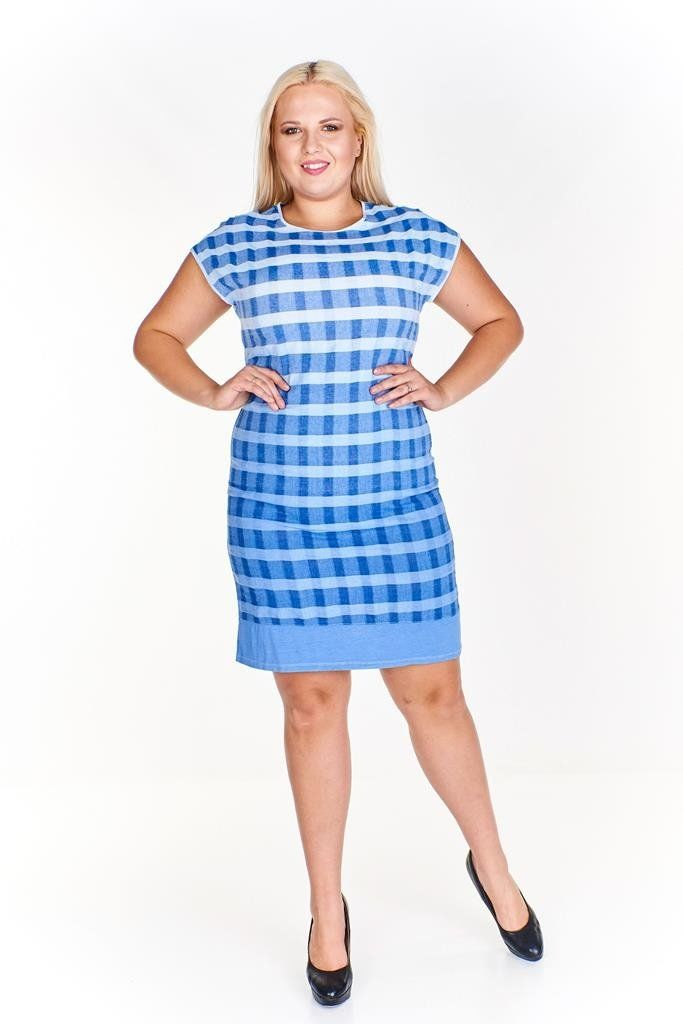 Sukienka FSU781 CHABROWY ombre