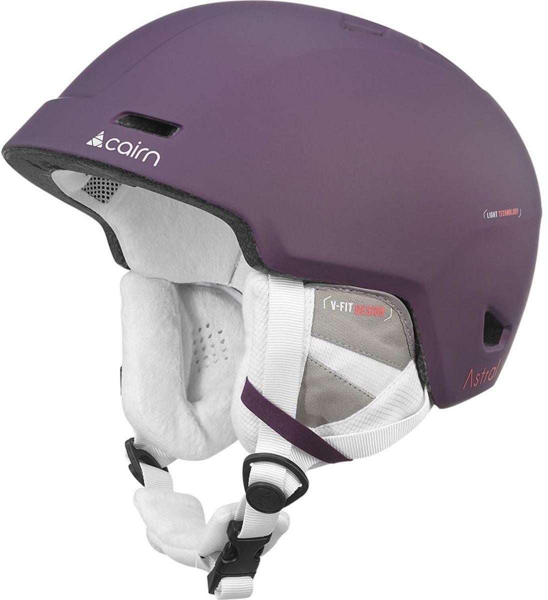 CAIRN kask zimowy narciarski/snowboardowy ASTRAL fioletowy Rozmiar: 55-56,060614023
