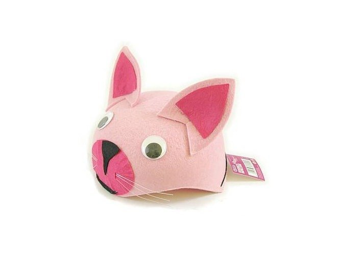 Czapka Kotek różowy - 1 szt.