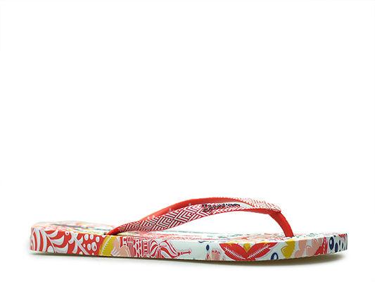 Japonki Ipanema 26232 Białe/Czerwone/Żółte