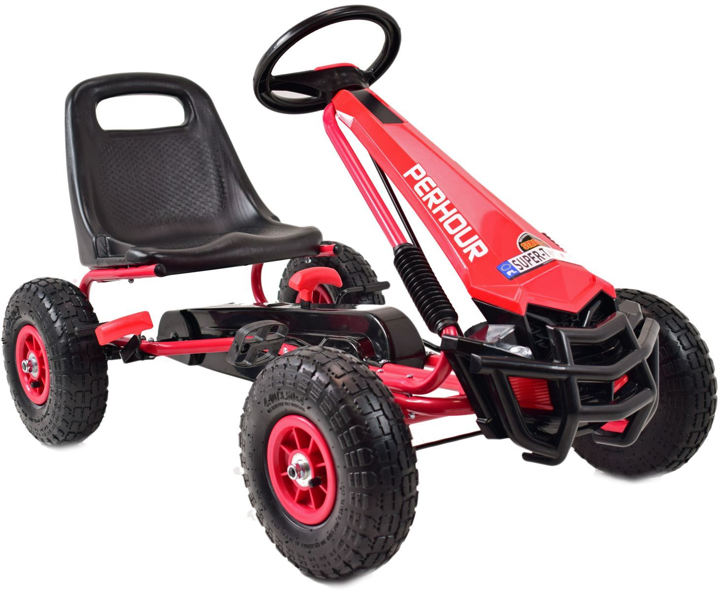 Rolly Toys Traktor na Pedały z Biegami Mercedes Benz Łyżka 3-8 Lat LK