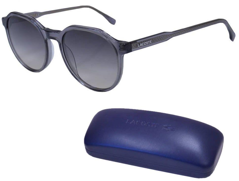 Okulary przeciwsłoneczne Lacoste damskie szare - L909S
