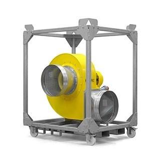 Wentylator promieniowy TFV 600