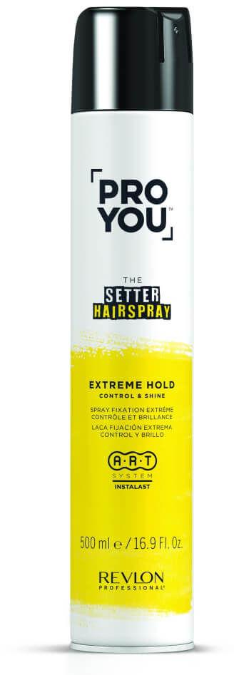 Revlon ProYou Setter Hairspray Strong Extreme lakier do włosów mocno utrwalający 500ml